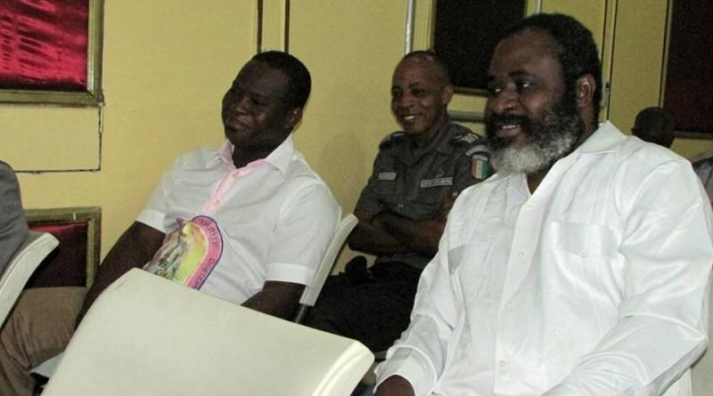 Abéhi et séka Séka lors d eleur procès